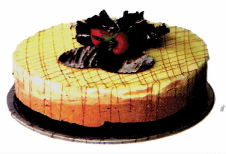 Tripple Chocolate Cheese Cake